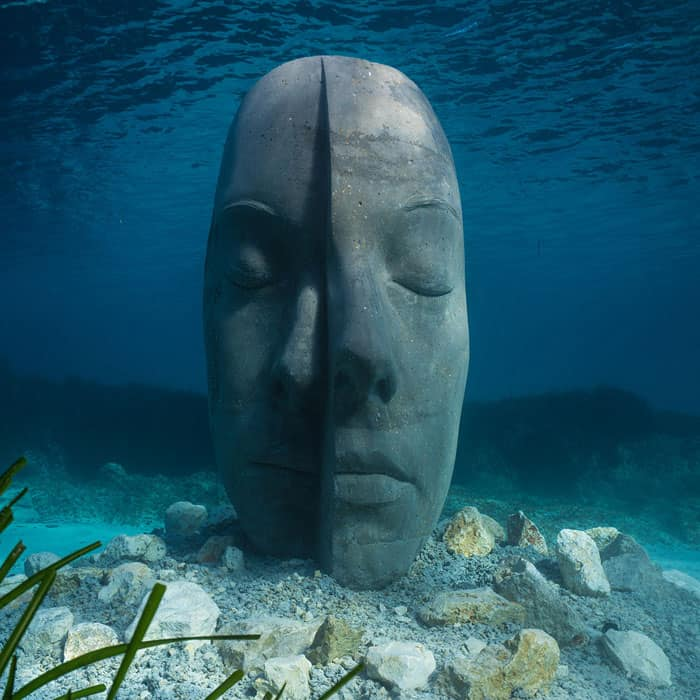 Cannes Underwater Ecomuseum by Jason deCaires Taylor