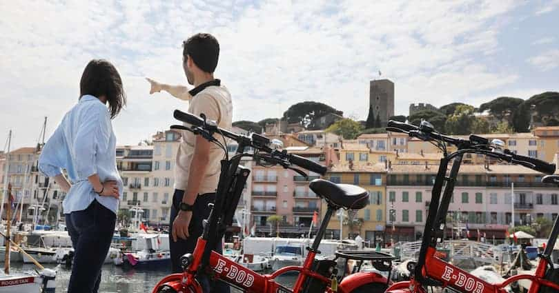 Electric bike tour of Cannes